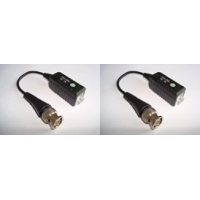 *BNC converter from coax to twin cable