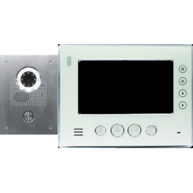 Classic IP flush mount video doorphone + 7 inch colour monitor
