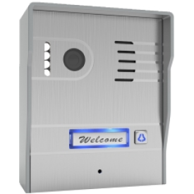 Classic brand wireless, IP surface mount video doorphone with camera