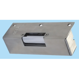 Surface Mount electric striker plate to release locks