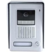 *Classic 4-wire, surface mount video doorphone