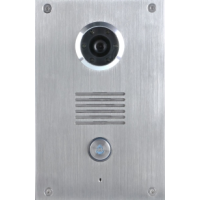 *Classic 2-wire, flush mount video doorphone