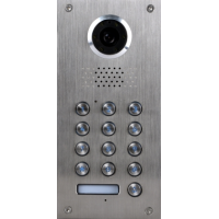 *Classic 2-wire, flush mount video doorphone & keypad