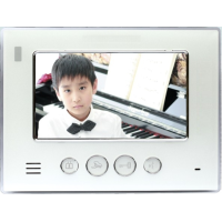 *Classic IP, 7 inch colour monitor with white surround