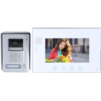 *Classic 2-wire, surface mount video doorphone + 7 inch colour intercom monitor
