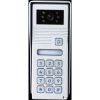 *Classic 4-wire, surface mount video doorphone & keypad