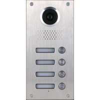 Converts classic flush mount video doorphone to surface mount