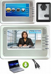 video intercom system with video doorphone + video monitor